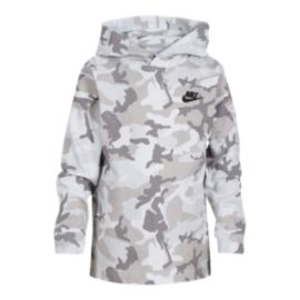 Nike Sportswear Boys' 4-7 Jersey Camo Hooded Shirt