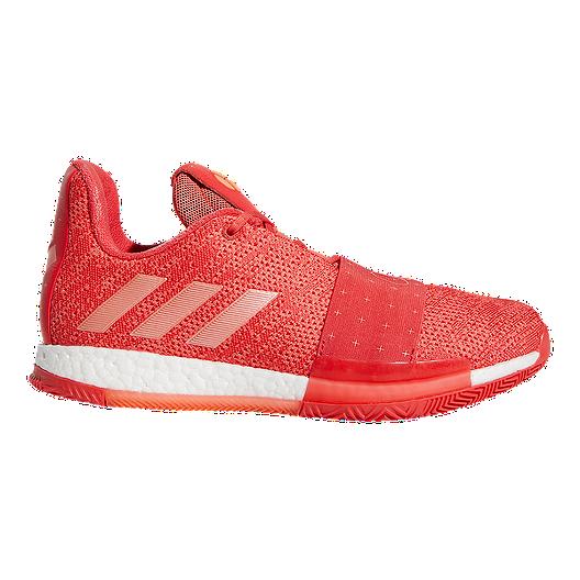 the latest d98e0 7c3b2 Adidas Men s Harden Vol 3. Basketball Shoes - Coral   Sport Chek