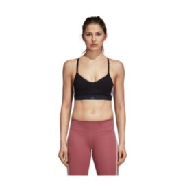 b286e38aae adidas Women s All Me 3 Stripe Sports Bra