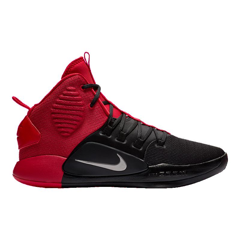 f59b968949e3 Nike Men s Hyperdunk X Basketball Shoes - Red Black