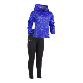 Under Armour Girls' 4-6X Shattered Pullover Hood Set