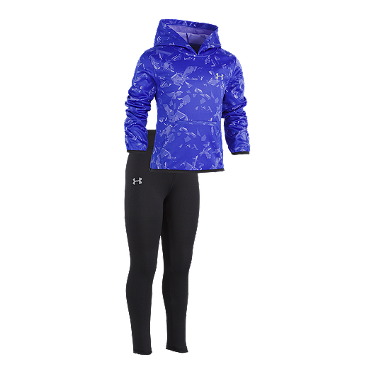 a32476077 Under Armour Toddler Girls' Shattered Pullover Hood Set