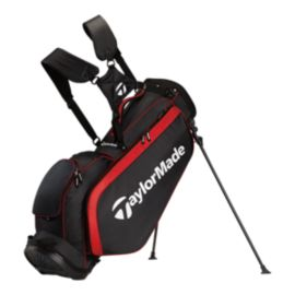 TaylorMade Pro 3.0 Stand Bag - Black/White/Red