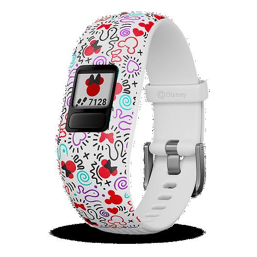 1c66b2b6 Garmin vívofit Junior Activity Tracker - Minnie Mouse White