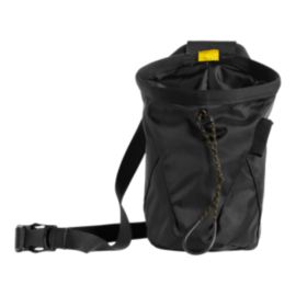 The North Face Chalk Bag Pro - Black/Canary Yellow