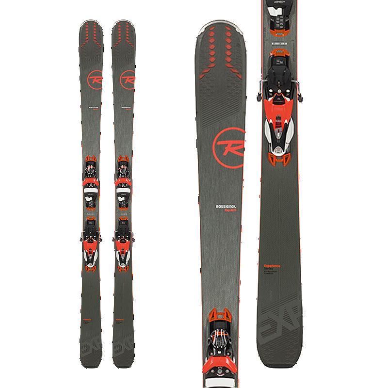 4b975648bf Rossignol Experience 88 Ti Konect Men s Skis 2018 19   LOOK SPX 12 Konect  Dual WTR B90 Ski Bindings - Black Orange