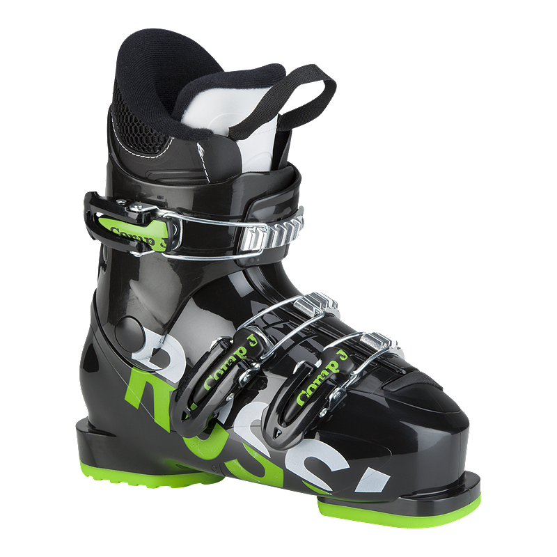 rossignol comp j3 junior ski boots 2018 19 black sport. Black Bedroom Furniture Sets. Home Design Ideas