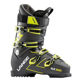 Lange SX 100 Men's Ski Boot 2018/19 - Anthracite Yellow
