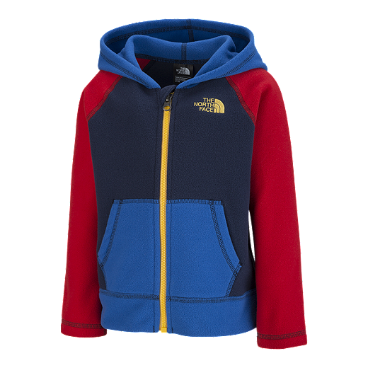 dfd30a8af The North Face Baby Boys' Glacier Full Zip Fleece Jacket