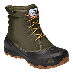 bfba2a2a5286 The North Face Men s Tsumoru Winter Boot - Tarmac Green Black