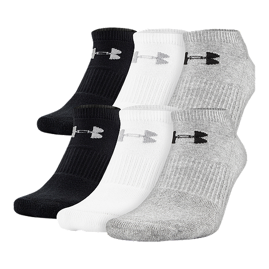 79a50910d69 Under Armour Women s Charged Cotton 2.0 No Show 6-Pack