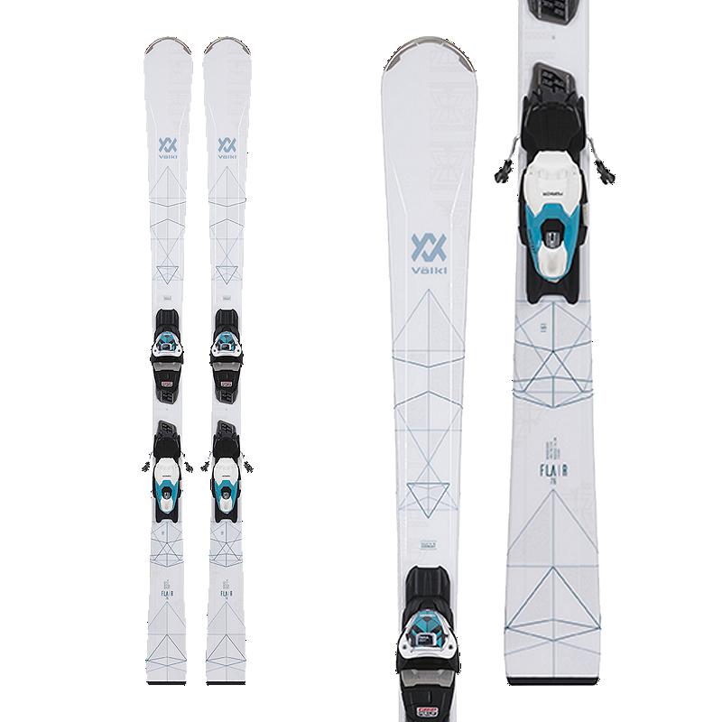 c8ec621583 Völkl Flair 76 Women s Skis 2018 19   Marker VMotion 10 GW Ski Bindings -  Lady Teal