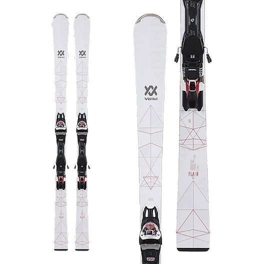 3144c2e848 Völkl Flair SC Women s Skis 2018 19   Marker VMotion 11 Alu GW Ski Bindings  - Lady Gold