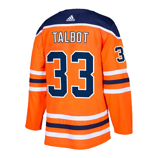 the latest 85fe7 23159 Edmonton Oilers adidas Talbot Authentic Home Jersey