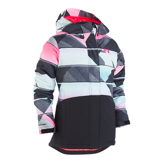 a9699a7f8 Under Armour Girls' Treetop Print Winter Jacket