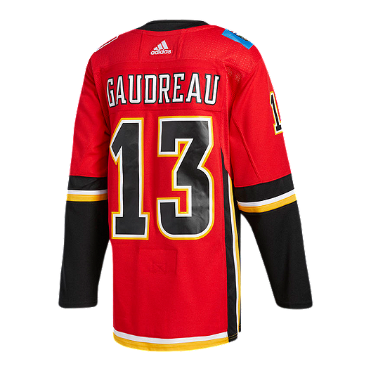 reputable site 9f4c1 db1e7 Calgary Flames adidas Johnny Gaudreau Authentic Jersey