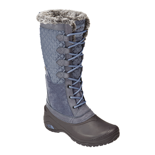 fe6e76c3ac1f The North Face Women s Shellista III Tall Winter Boots - Grisaille Grey  Tempest