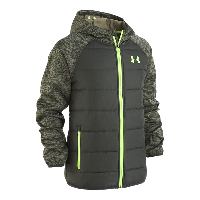 a4c7be899 Under Armour Boys' TR Day Trekker Hybrid Winter Jacket