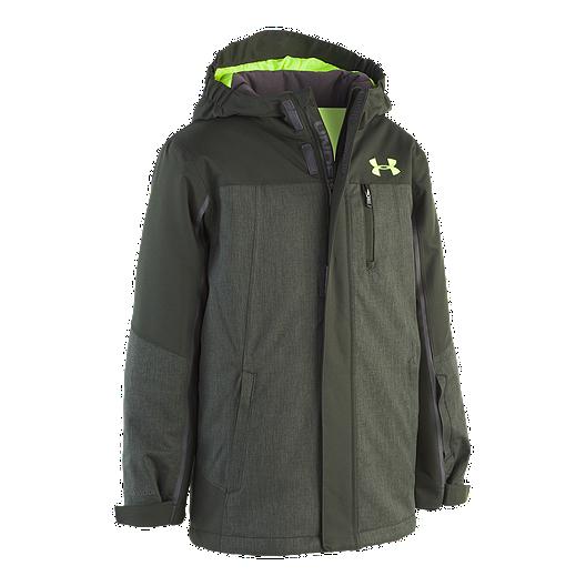 7a6680a0c0 Under Armour Boys' Castlerock Insulated Winter Jacket
