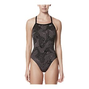 6f7704ad36224 Nike Women's Geo Alloy Racerback One Piece Swimsuit