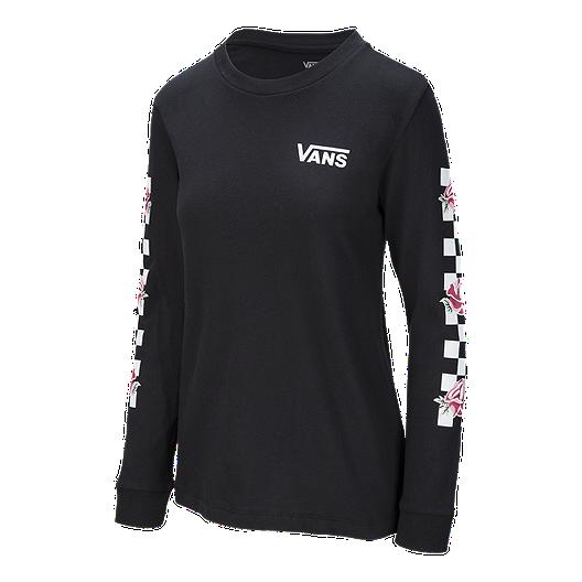 b03cdc55bc Vans Women's Patchwork Floral Long Sleeve Boyfriend T Shirt | Sport Chek