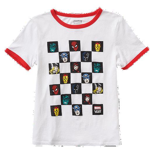 28dcc59716bed5 Vans Marvel Women s Avengers Ringer T Shirt