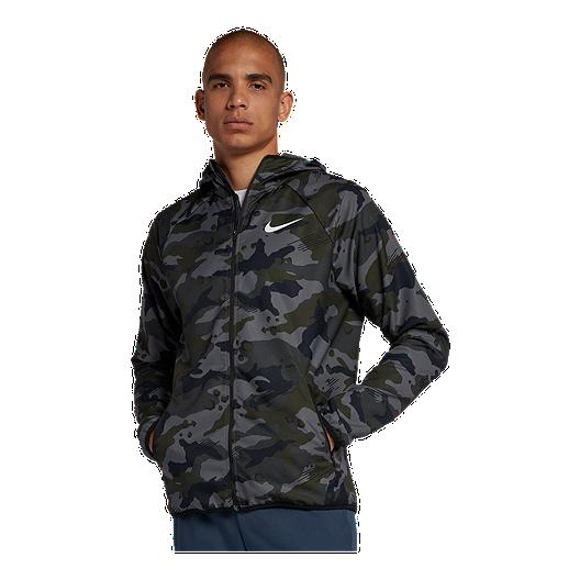 6d73268f9f200 Nike Men's Woven Camo Jacket | Sport Chek