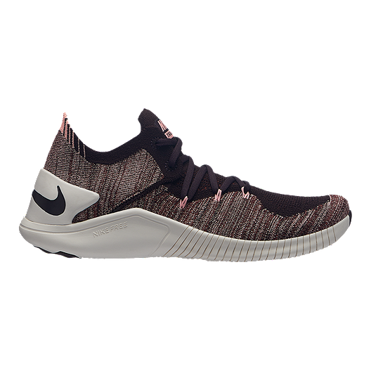 cf641eb671b2b Nike Women's Free TR Flyknit 3 Training Shoes - Burgundy Ash | Sport Chek