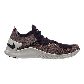 ae9ef712cdd0 Nike Women s Free TR Flyknit 3 Training Shoes - Burgundy Ash