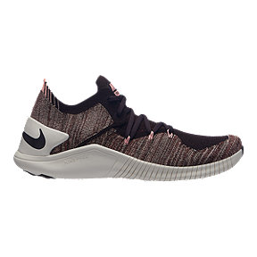 ebf645d6f2 Nike Women s Free TR Flyknit 3 Training Shoes - Burgundy Ash