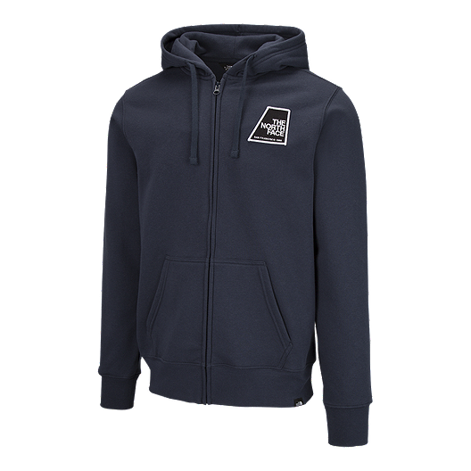 7b3bc5b32 The North Face Men's Full Zip Patches Hoodie - Navy