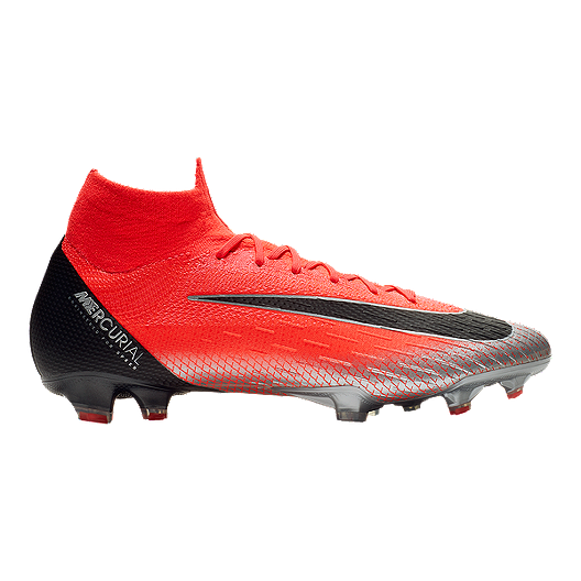 b0a52388f7ae Nike Men s CR7 Mercurial Superfly VI Elite Soccer Cleats - Red ...
