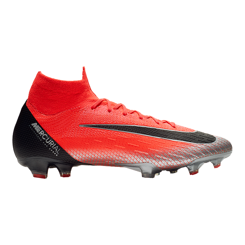 40323c27b3c Nike Men s CR7 Mercurial Superfly VI Elite Soccer Cleats - Red ...