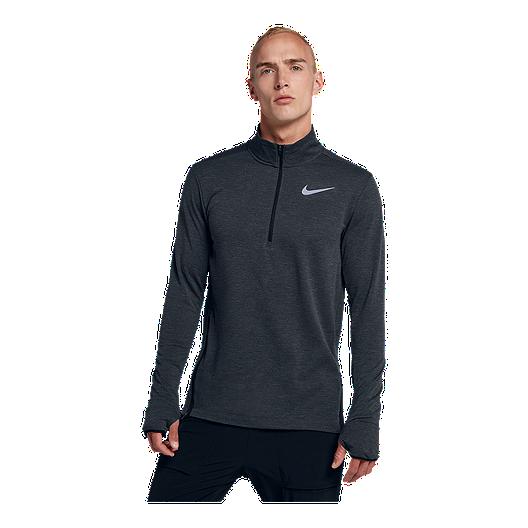 3e876db2c8fc0 Nike Men's Sphere Element 2 1/2 Zip Long Sleeve Shirt   Sport Chek