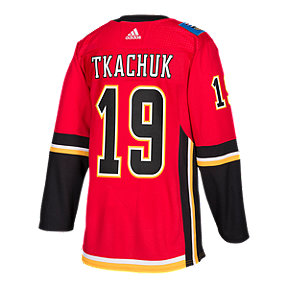 Calgary Flames adidas Matthew Tkachuk Authentic Home Jersey