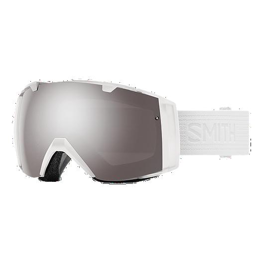40bfdb41fafe Smith I O Ski   Snowboard Goggles - Whiteout with ChromaPop Sun Platinum  Mirror Lens