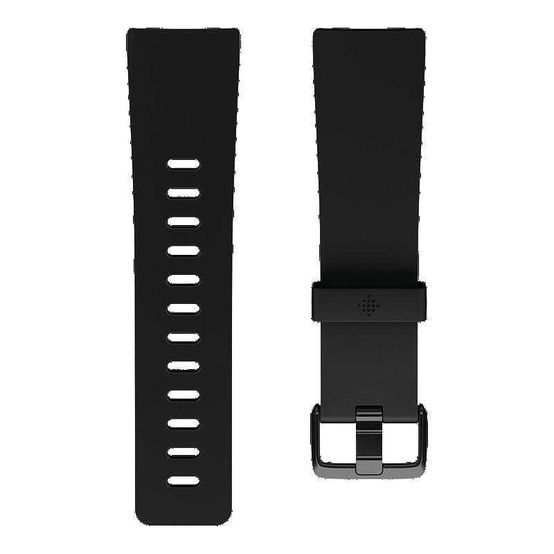 18ec828cb0ab0 Fitbit Versa Classic Accessory Band - Black Large