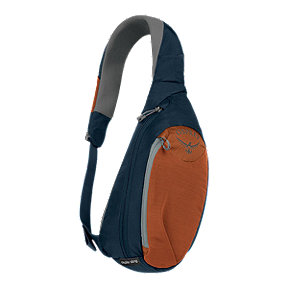 Osprey Daylite Sling 6L Shoulder Bag - Dark Blue/Orange