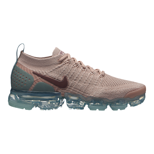 feade8930d Nike Women's Air Vapormax Flyknit 2 Running Shoes - Beige/Mauve - PARTICLE  BEIGE/