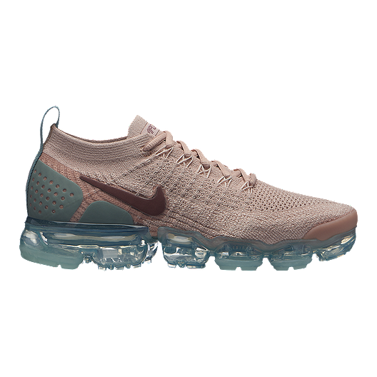 d51067375ea3 Nike Women s Air Vapormax Flyknit 2 Running Shoes - Beige Mauve ...