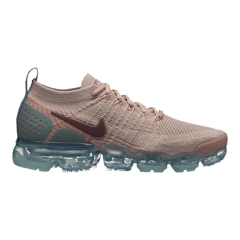 7e07ef1620f517 Nike Women s Air Vapormax Flyknit 2 Running Shoes - Beige Mauve ...