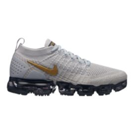 8bfdd58170a0 Nike Women s Air Vapormax Flyknit 2 Running Shoes - Grey Gold ...