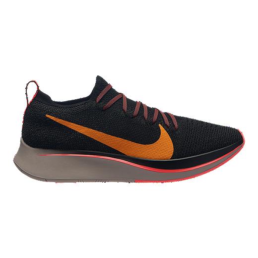 best sneakers 461e0 681ed Nike Women's Zoom Flyknit Running Shoes - Black/Flash Crimson