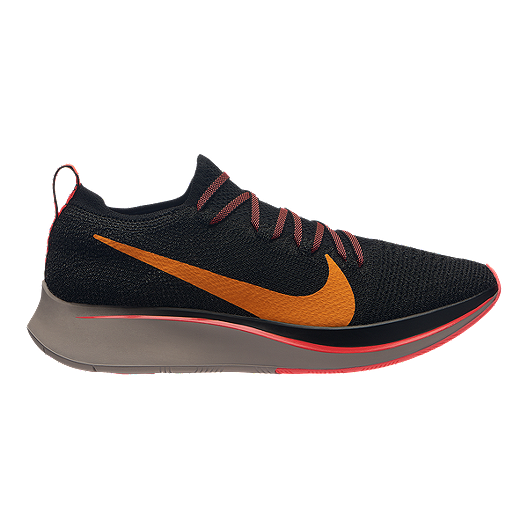 sports shoes ab2ab e18c1 Nike Women s Zoom Flyknit Running Shoes - Black Flash Crimson   Sport Chek