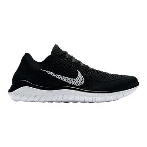 9f019025f2 Nike Men s Free RN Flyknit 2018 Running Shoes - Black White