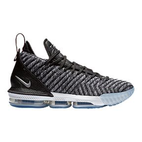 5a7bd5ba3de Nike Men s LeBron XVI Basketball Shoes - Black White Red