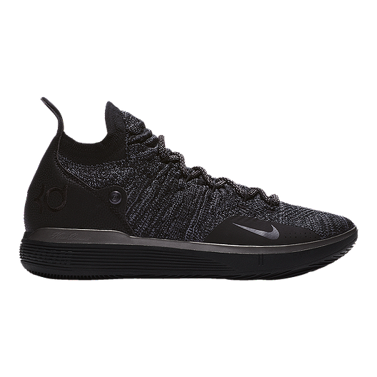 a2fd1610fb065 Mike Men's Zoom KD 11 Basketball Shoes - Black/Purple | Sport Chek