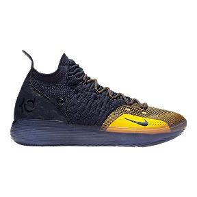 01b19c86936 Nike Men s Zoom KD 11 Basketball Shoes - Black  Navy