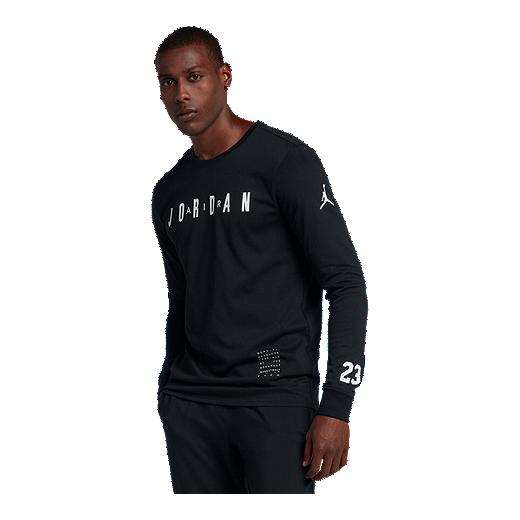 456576d1c56 Nike Men's Jordan HO 1 Long Sleeve Basketball Shirt   Sport Chek