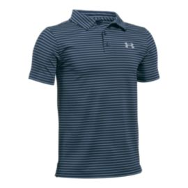 Under Armour Boy's Play Off Stripe Polo